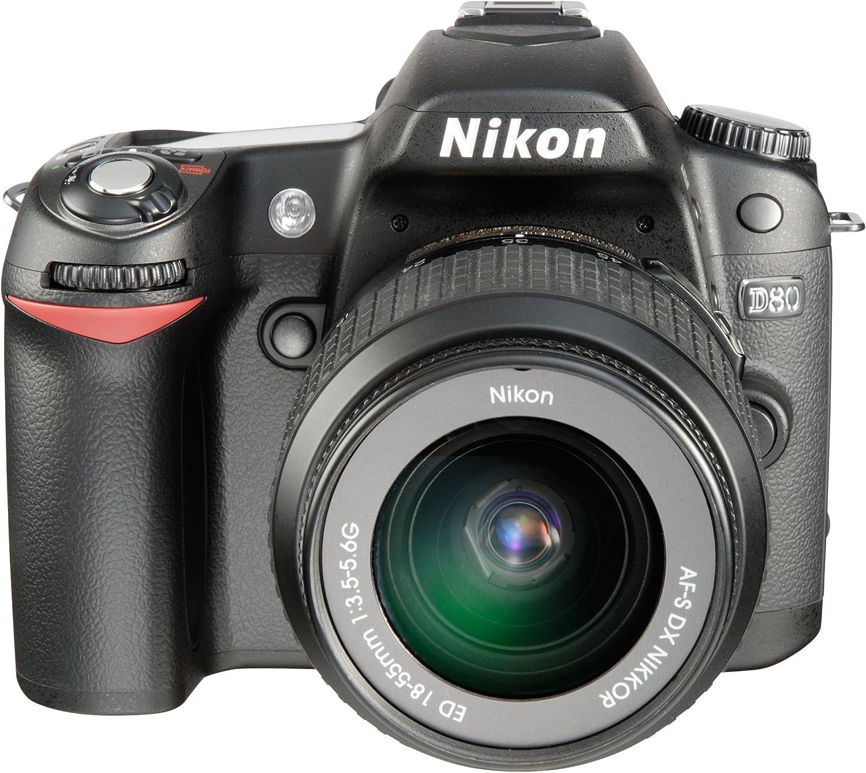 Nikon D80 - Cámara Réflex Digital 10.2 MP (Cuerpo): Amazon.es ...