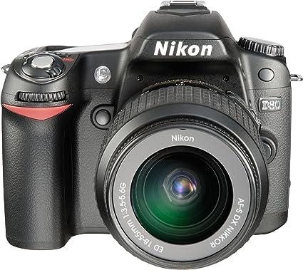 Nikon D80 Slr Digitalkamera Kit Inkl Dx Vr 18 55 Kamera
