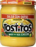 Tostitos Salsa Con Queso - Medium, 15 Ounce