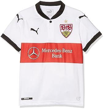 a29fef1d70 Puma Camiseta VfB para niños  Amazon.es  Deportes y aire libre