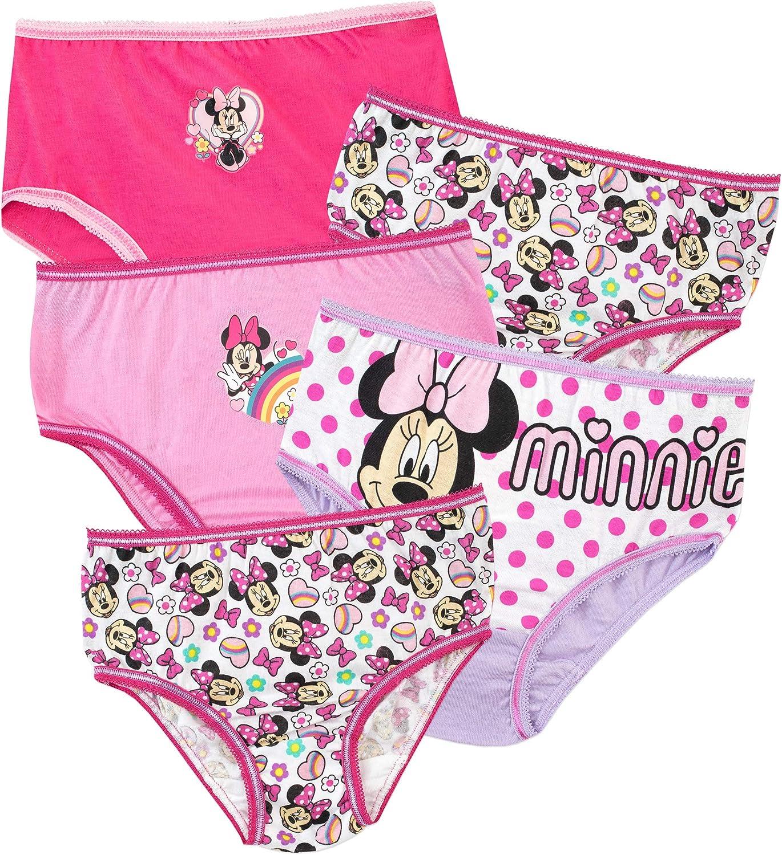 Disney Girls Minnie Mouse Underwear Pack of 5
