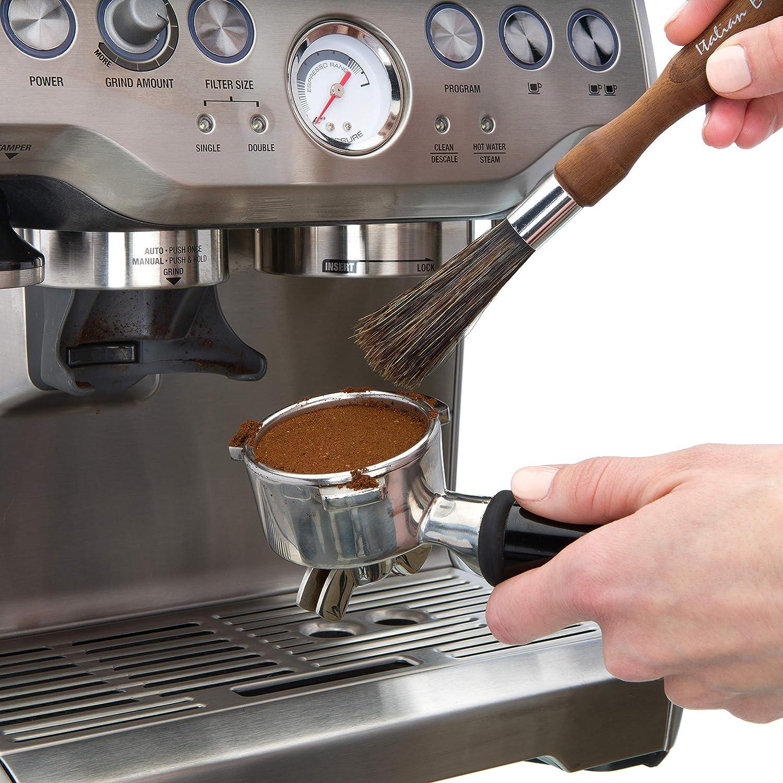 Reinigungspinsel f�r Espressomaschinen Thermoholz gerade Redecker 751120