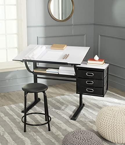 Safavieh Home Collection Harvard Black and White Writing Desk