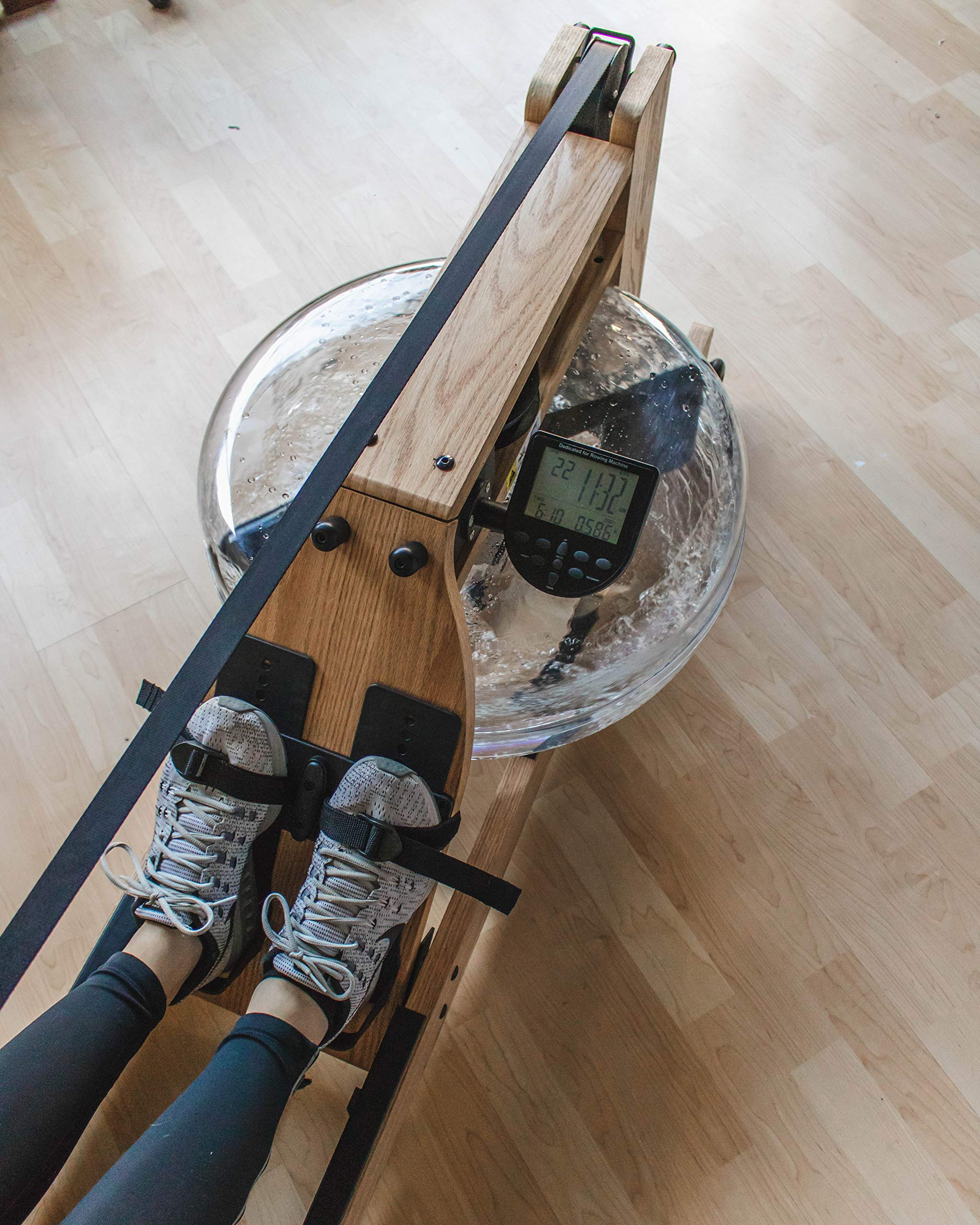 Incline Fit Wood Water Rowing Machine with Monitor by Incline Fit (Image #7)