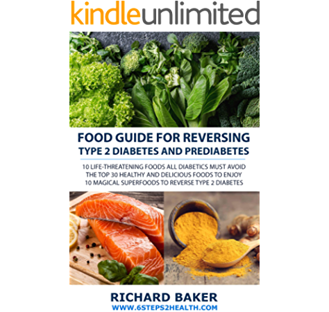 Amazon Com Food Guide For Reversing Type 2 Diabetes 10 Life