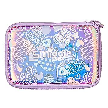 Smiggle Shimmy - Estuche rígido para lápices, color lila ...