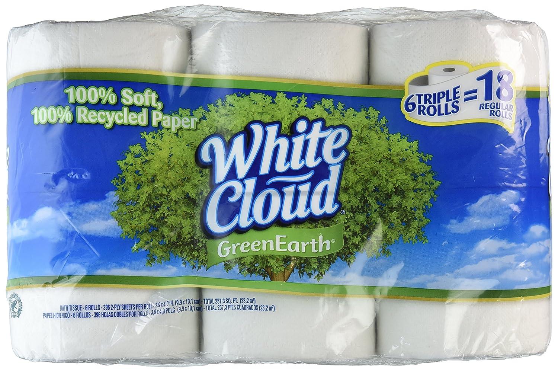 White cloud bathroom tissue - Amazon Com White Cloud Green Earth Giant Bath Tissue 6ct Health Personal Care