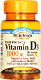 Sundown, Vitamin D-1000 Iu Softgels, 100 ct
