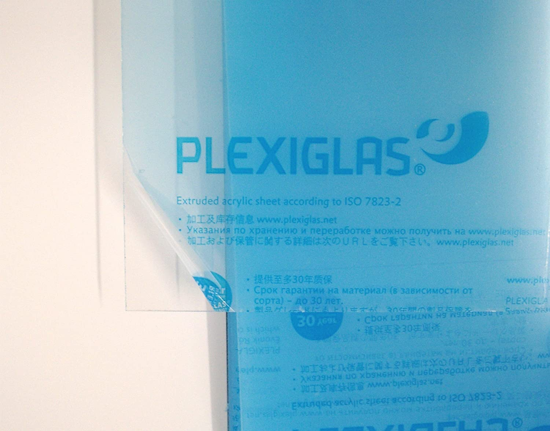 17cm Durchmesser transparent 4mm XT Plexiglas/® Kreiszuschnitt aus Acryl