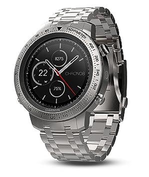 Garmin Fenix Chronos Acero Exr Reloj, Talla Única