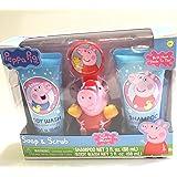 Peppa Pig Soap and Scrub Set