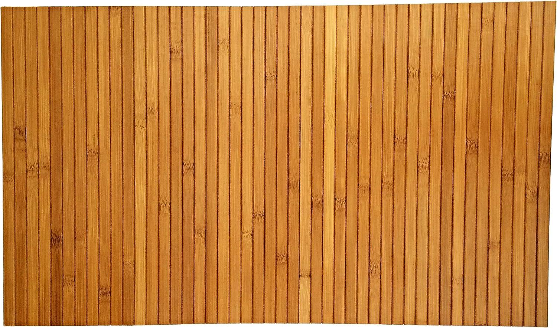 Bandeja de sofá flexible hecha de bambú natural con acabado en ...