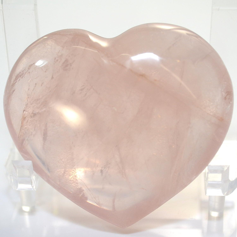 5 Year Wedding Anniversary Gift Rose Quartz Crystal Heart, 5th Year ...