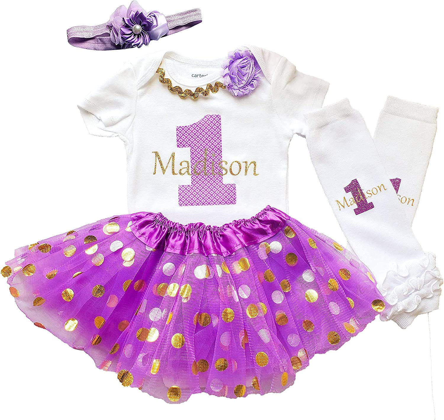 Perfect Pairz First Birthday Girl Tutu Outfit