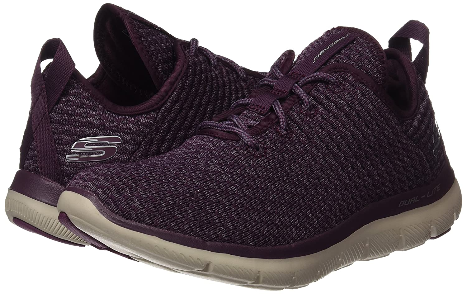 Skechers Sport Bold Women's Flex Appeal 2.0 Bold Sport Move Fashion Sneaker B01MS9R15S 5 B(M) US|Plum 0f794f