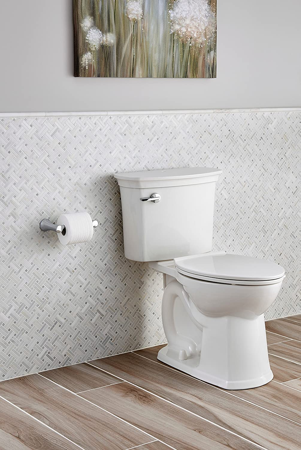 American Standard 714AA154.020 ActiClean Right Height Elongated ...