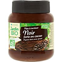 Jardin Bio Pâte à Tartiner Noir Forte en Cacao 350 g