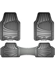 Custom Accessories Armor All 78844 3-Piece Grey Full Coverage Rubber Floor Mat