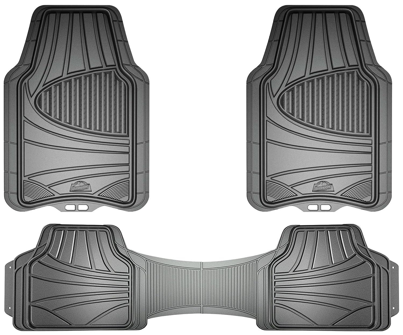 Custom Accessories Armor All 78844 3-Piece Grey Full Coverage Rubber Floor Mat