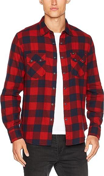 Lee Rider Shirt Camisa para Hombre: Amazon.es: Ropa y accesorios