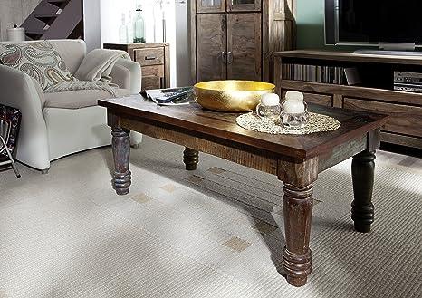 In legno massello mobili vintage laccato tavolino da salotto