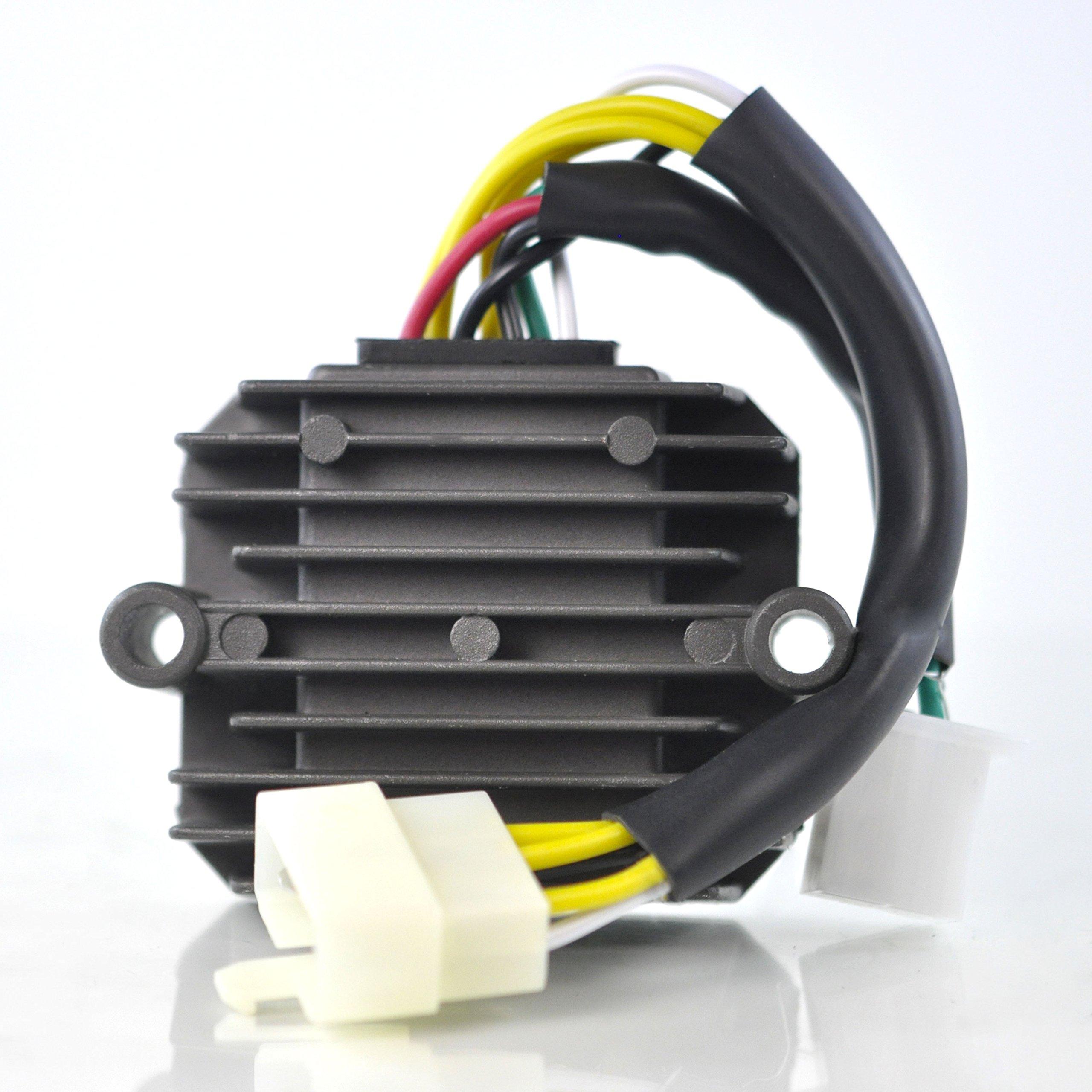 Voltage Regulator For Honda CB650 CB750 Nighthawk/CB750C CB900C Custom/CB750K/CB750L Limited/CB750F CB900F CBX Super Sport/CB1000/CB1100 1979-1985 Repl.# 31600-425-008 31600-MG5-000