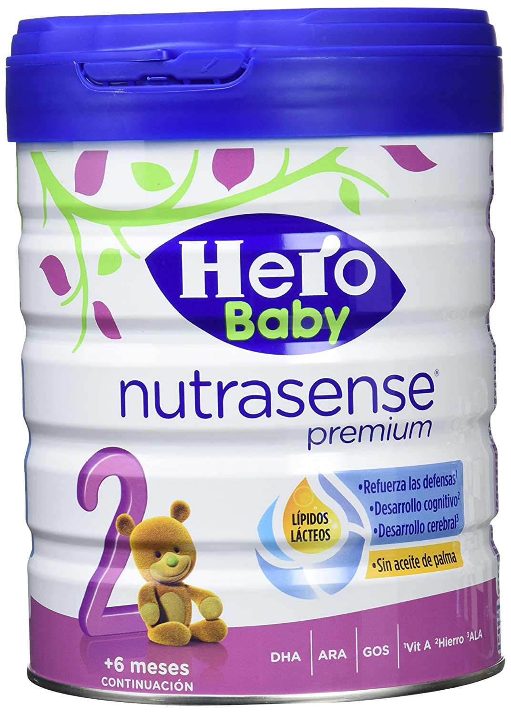 Hero Baby, Leche de continuación para bebé - 2 de 800 gr. (Total 1600 gr.): Amazon.es: Alimentación y bebidas