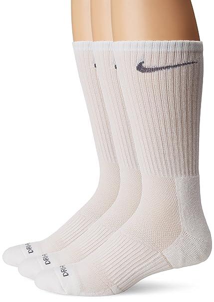 Nike Mens Coussin Dri-fit Chaussettes De L'équipage - Journal 3-pack pas cher professionnel gN2GwnD