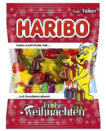 Haribo Weihnachten.Haribo Frohe Weihnachten 200 G Amazon De Lebensmittel Getränke