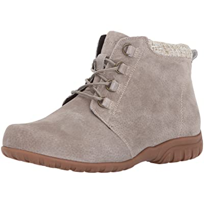 Propet Women's Delaney Ankle Boot Bootie, Sand, 10 X-Wide | Ankle & Bootie