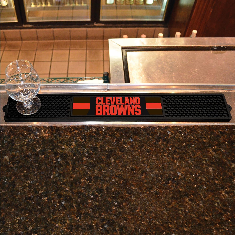 FANMATS NFL Cleveland Browns Vinyl Drink Mat
