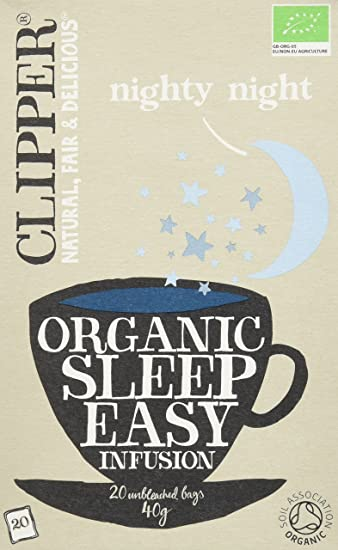 Clipper Sleep Easy Infusión - 120 bolsas