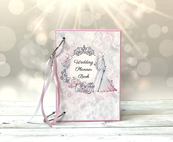 Amazon Com Kristabella Creations Personalized Wedding Planner Book