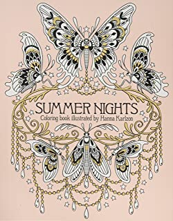 Summer Nights Coloring Book Originally Published In Sweden As Sommarnatt Daydream