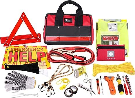 Amazon.com: Thrive Asistencia en carretera Kit de emergencia ...