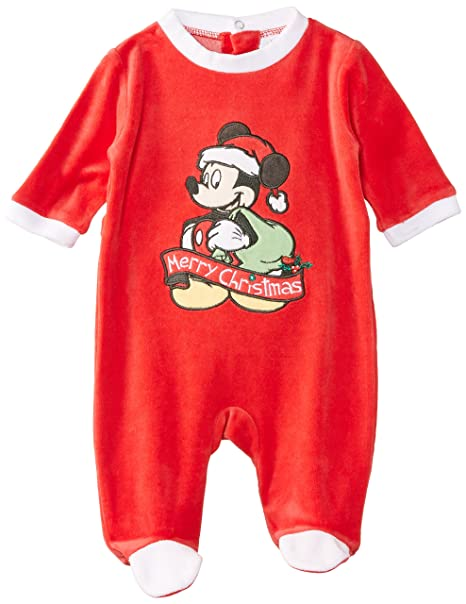 Disney Mickey Mouse NH0338, Pijama para Niños, True Red, 0-3 Meses: Amazon.es: Ropa y accesorios
