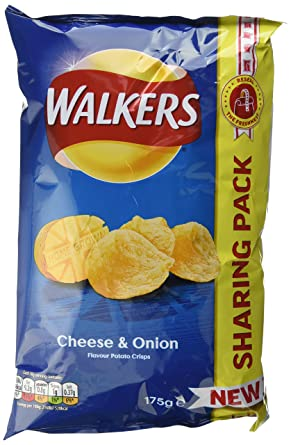 Walkers And Doritos Snacks Party Box Assorted Flavors Pack Of 7
