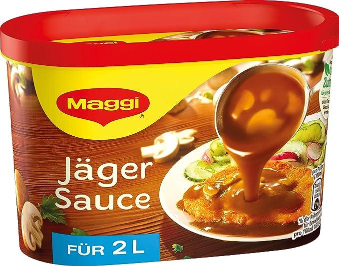 Maggi Jager Sauce/Salsa Hunter/ 2Litros