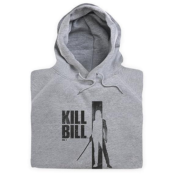 Official Kill Bill Vol 1 Distressed Dark Logo Hoodie, Herren