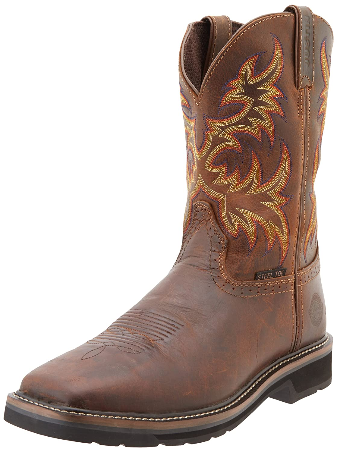 These Boots Were Made For Strutting: Justin Original Work Boots Men's Stampede Collection 11