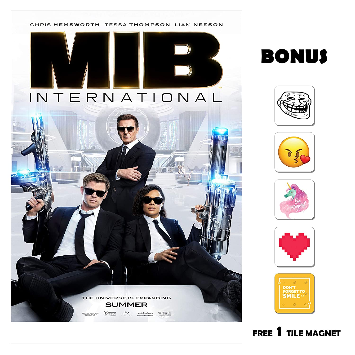 Amazoncom Movie Poster Men In Black Mib International 13