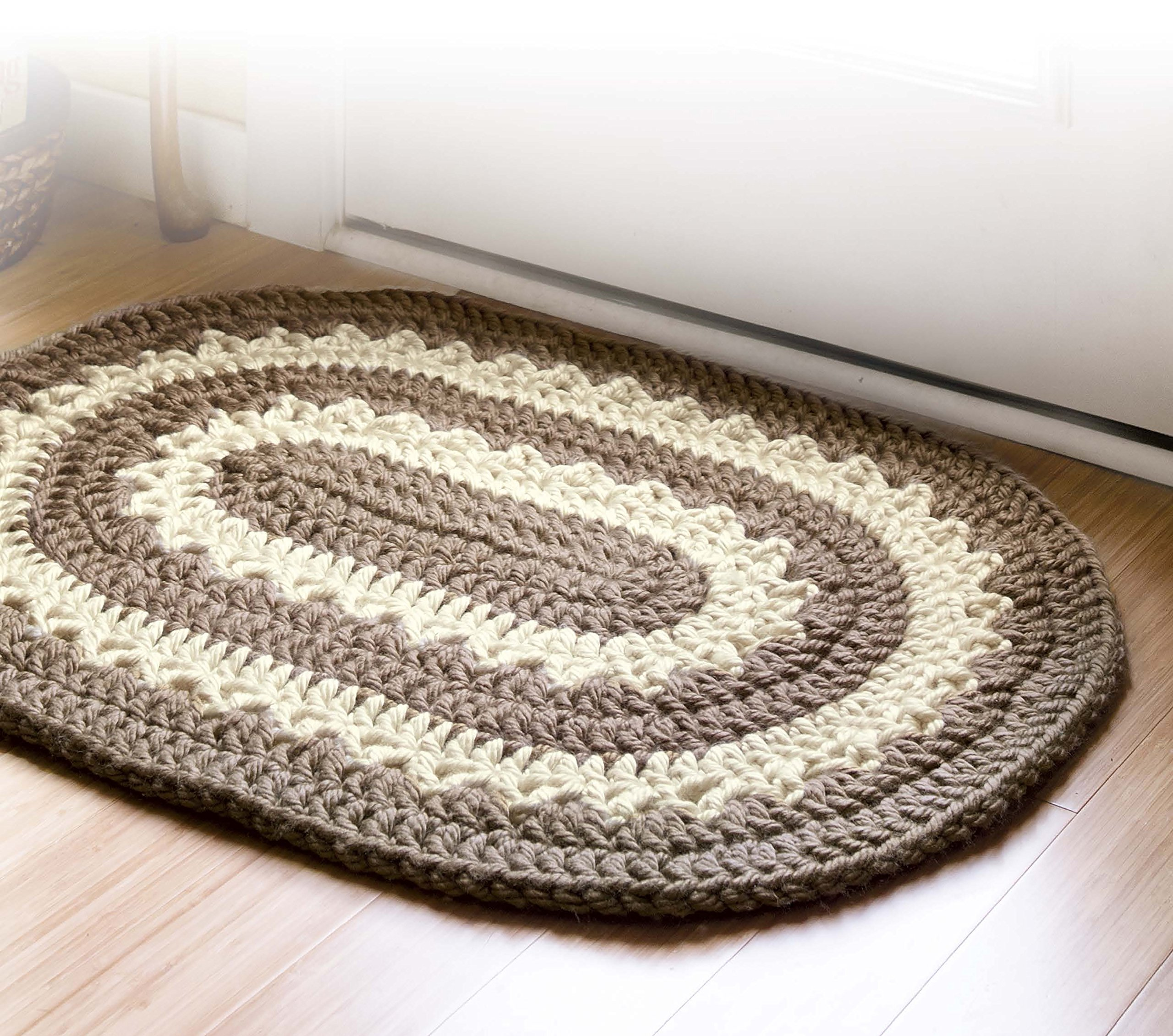 Retro Rugs Crochet Leisure Arts 6887 Leisure Arts