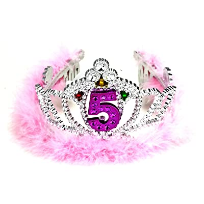 Forum Novelties 5th Birthday Flashing Tiara: Toys & Games
