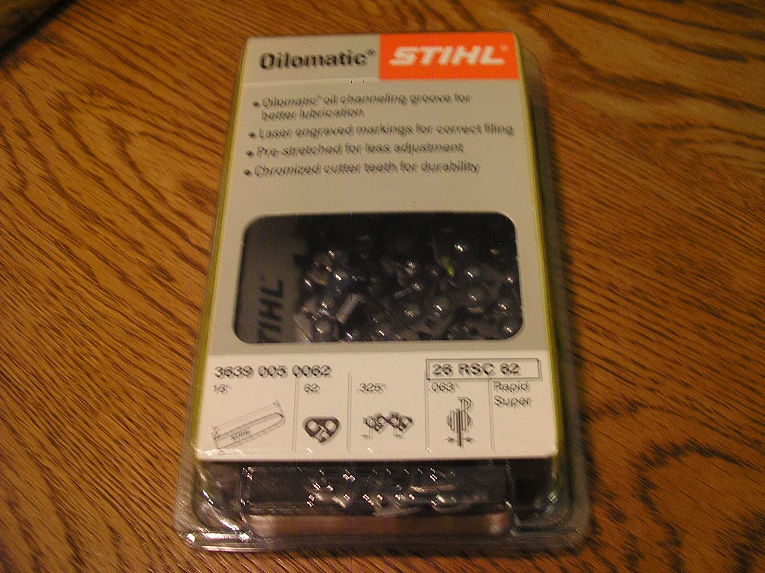 For Stihl 22 BPK Oregon  Chainsaw Chain  62 links 16 in