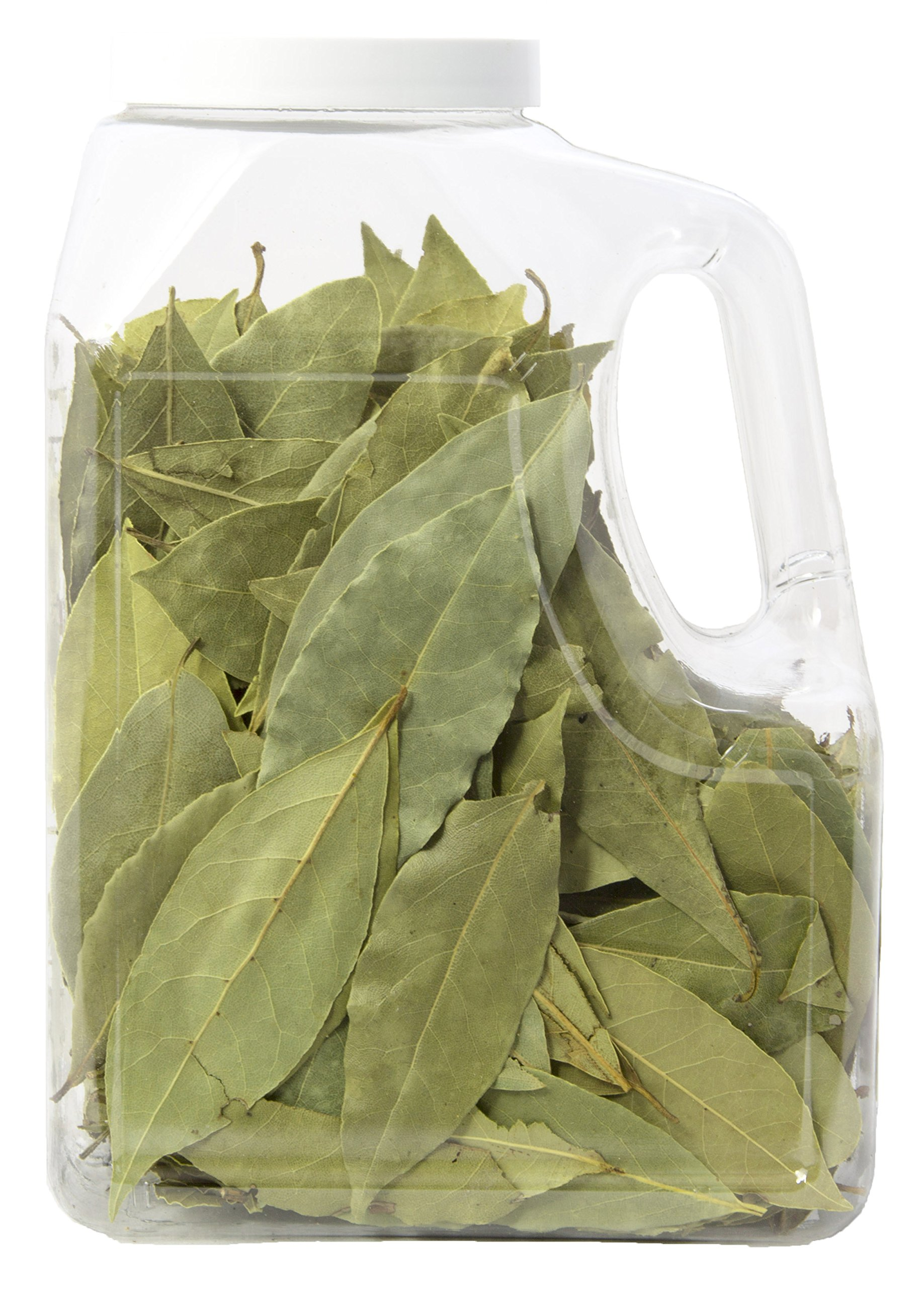 Mediterranean Bay Leaves : Laurel Leaf : Dried Herb Kosher 2.5oz. by Burma Spice (Image #2)