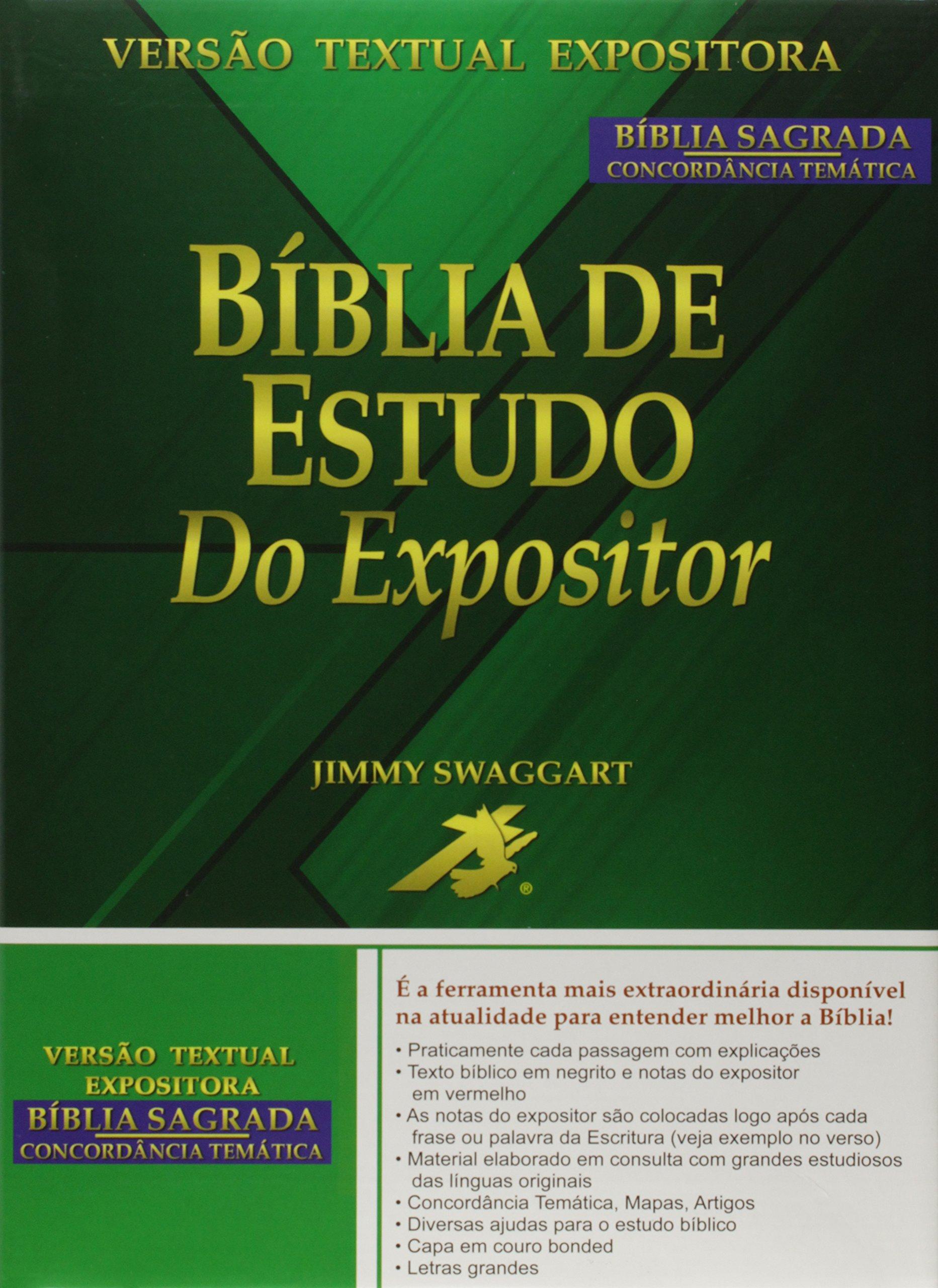 Bíblia De Estudo Do Expositor Amazones Vários Autores Libros