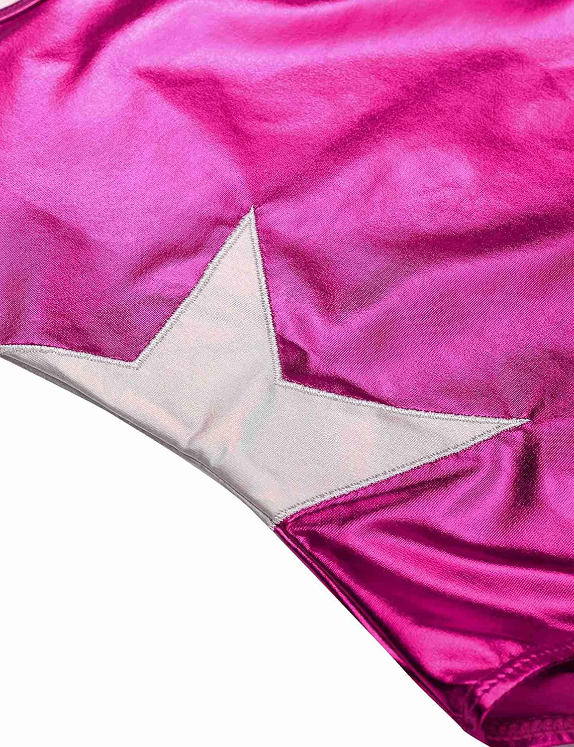 Asatr Girls One-piece Sparkle Dancing Gymnastics Athletic Sleeveless Leotard 2-10Y