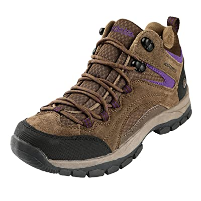Northside Womens Pioneer Mid Leather Waterproof Hiking Shoe | Hiking Boots