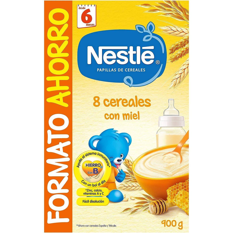Amazon.com : Nestle Papilla 8 Cereales Con Miel Y Bífidus : Grocery & Gourmet Food