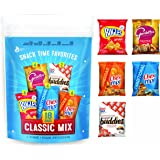 Salty Snacks Variety Pack, Includes Chex Mix Original, Chex Mix Cheddar, Gardetto's, Bugles & Muddy Buddies Snack Bags, 18 Pouches Per Bag (Pack of 3 Bags)